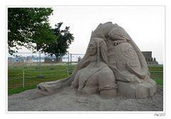 Sandskulpturen Rorschach 2010