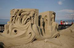 Sandskulpturen - und ihre Betrachter I