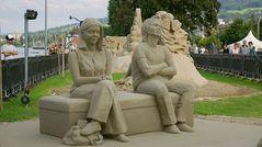 Sandskulpturen - und ihre Betrachter II