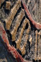 Sandsteinzifferblatt auf Burg Stolpen II