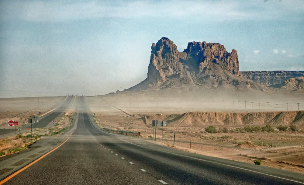 Sandstorm on the way