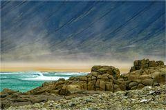 Sandsturm am Rauðisandur