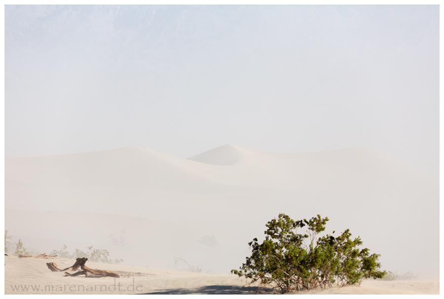 Sandsturm im Death Valley