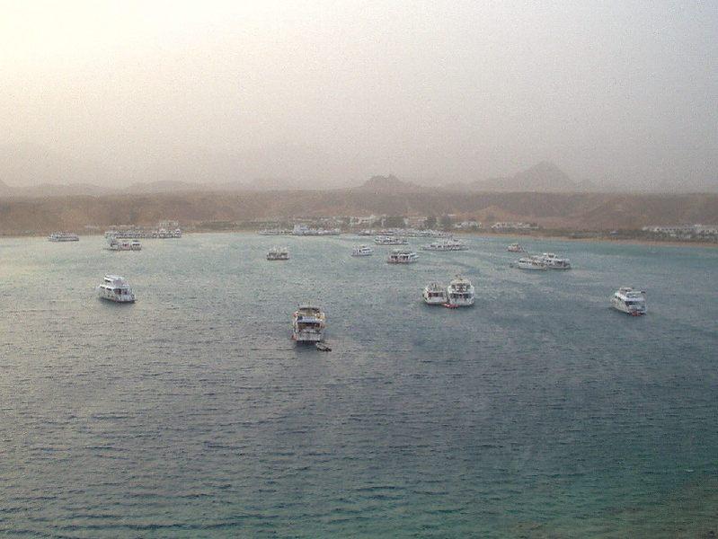 Sandsturm im Sinai