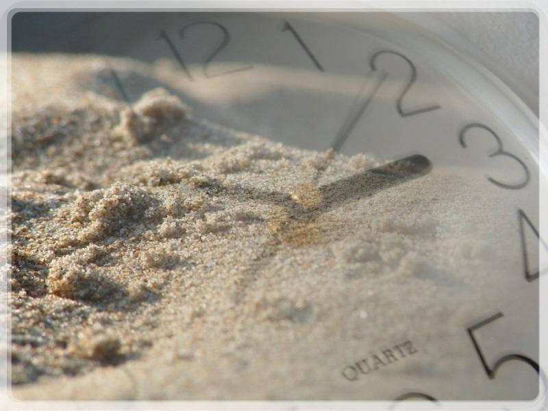 Sanduhr, Quarzsand