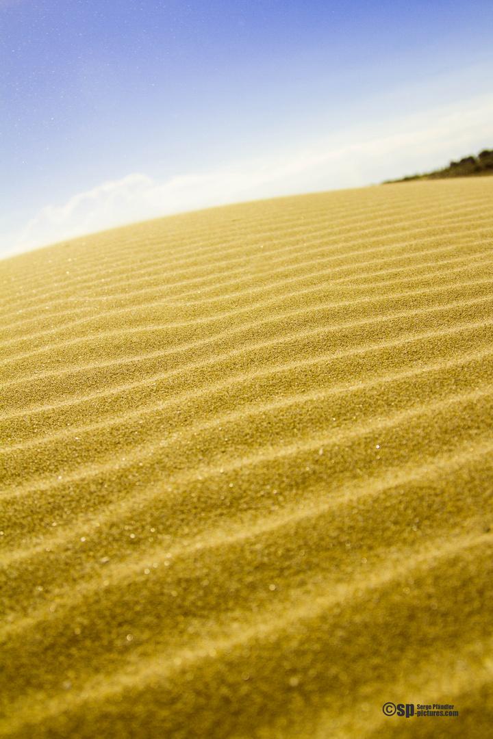 Sandwellen, vom Winde verweht