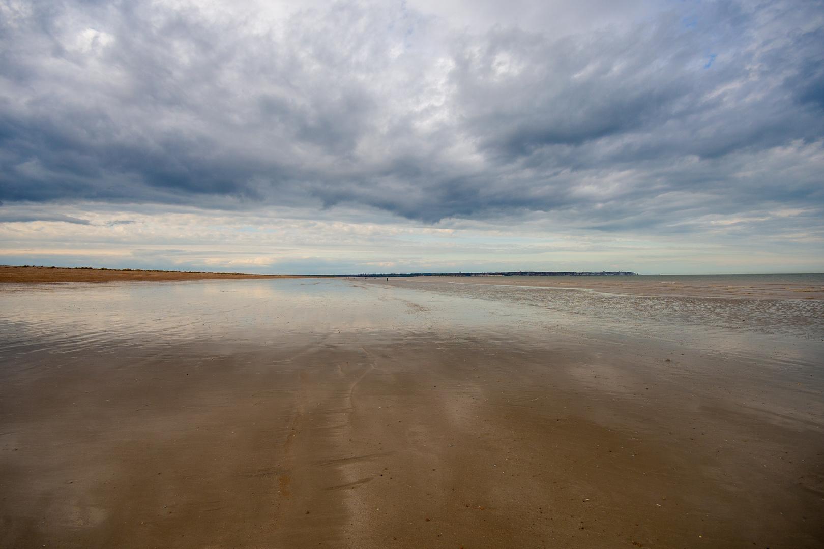 Sandwich Bay on an ebbing Tide.