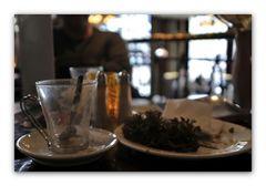 Sandwich und Cafe Latte