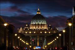 Sankt Peter zur blauen Stunde