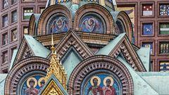 Sankt Petersburg - BLUTERLÖSERKIRCHE (2)