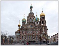 Sankt Petersburg; Die Auferstehungskirche.....