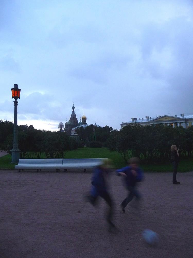 Sankt Petersburg - Marsfeld