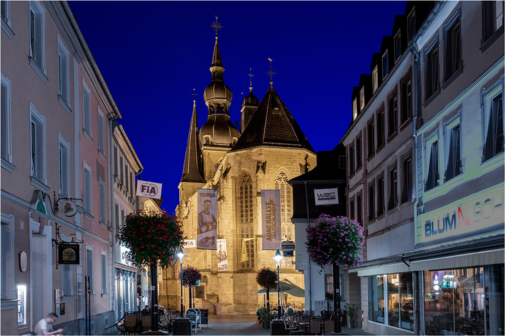 Sankt Wendel Blick zur Basilika