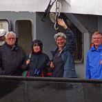 Sanne und Manfred on tour auf dem NOK