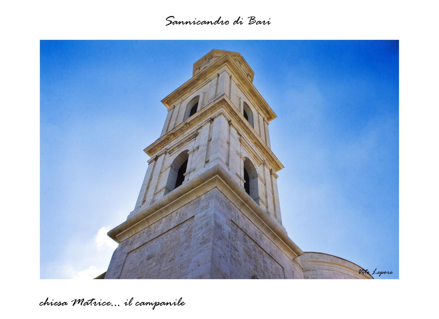 Sannicandro di Bari...Chiesa Matrice il campanile-2