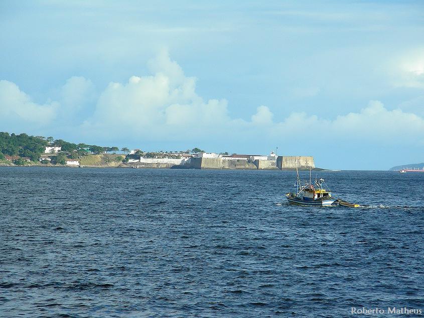 Santa Cruz Fort in Guanabara Bay Entrance / Series: Rio Architecture.