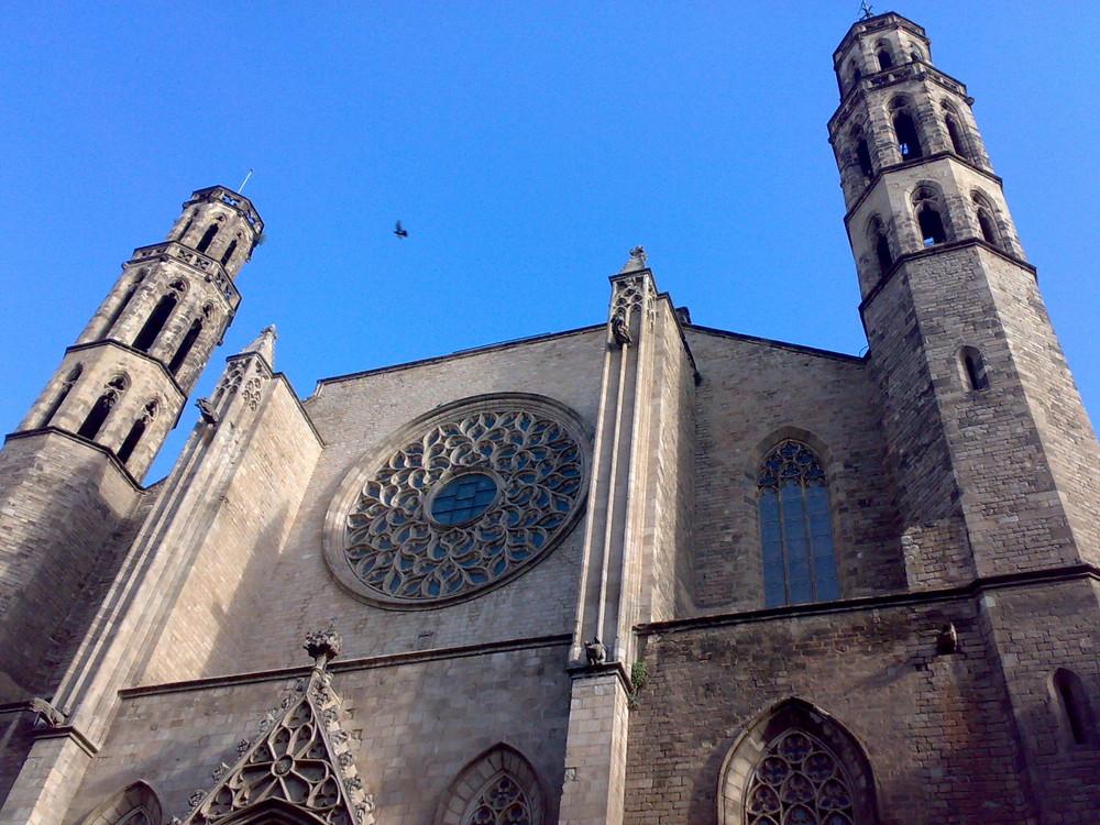 Santa Maria del Mar,Campanarios,Barna