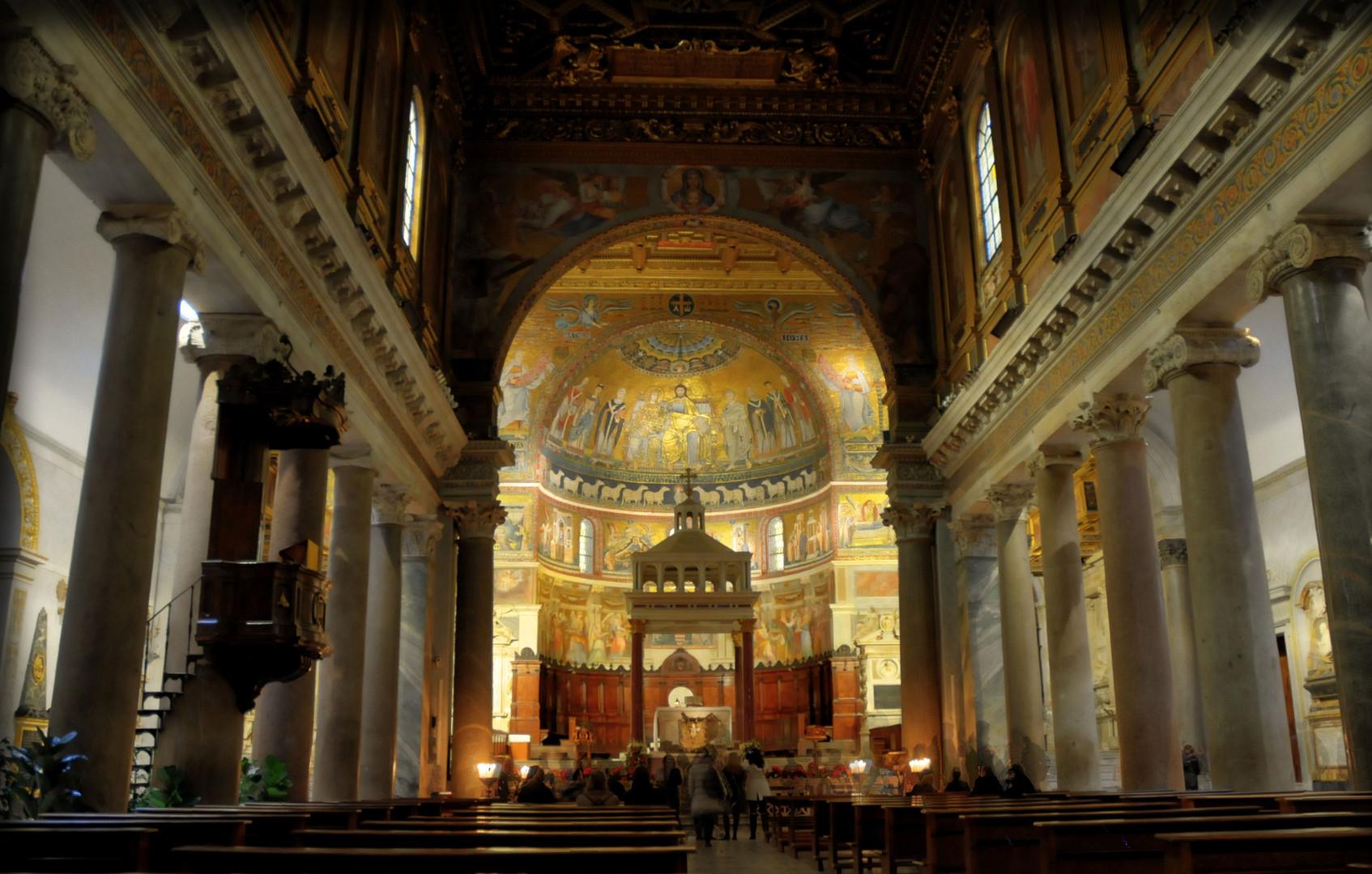 * Santa Maria in Trastevere - Roma *