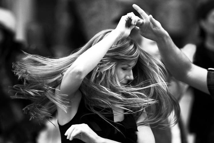 Santa Monica Promenade Dancers 2011-08-14 #1