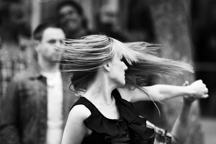 Santa Monica Promenade Dancers 2011-08-14 #11