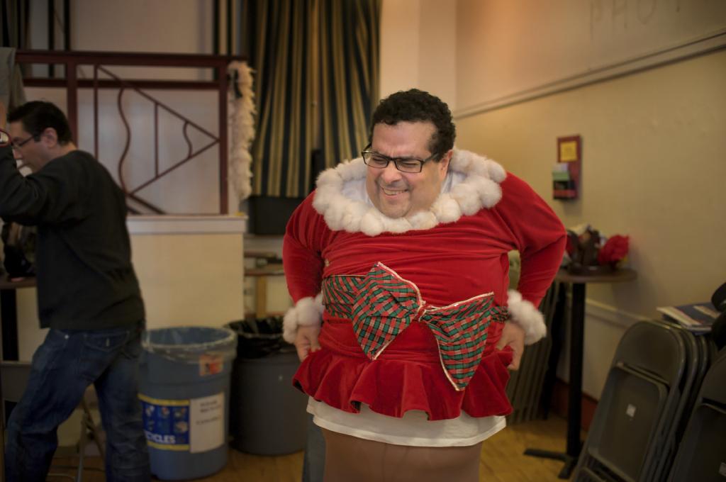 Santa Release a little Gas While saying HO Ho HO