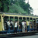 Santa Teresa --> der letzte Stadtteil von Rio mit Strassenbahn