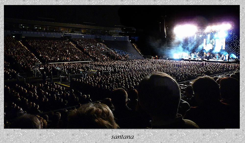 Santana in der o2 world Arena ...