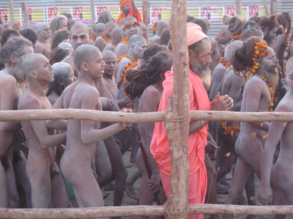 Santoni SADU al Kumbh Mela - India - Gennaio 2007