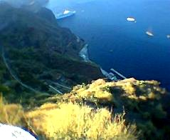 Santorini - Caldera from the top