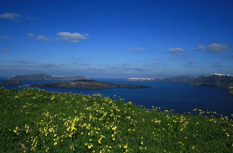 Santorini Winter