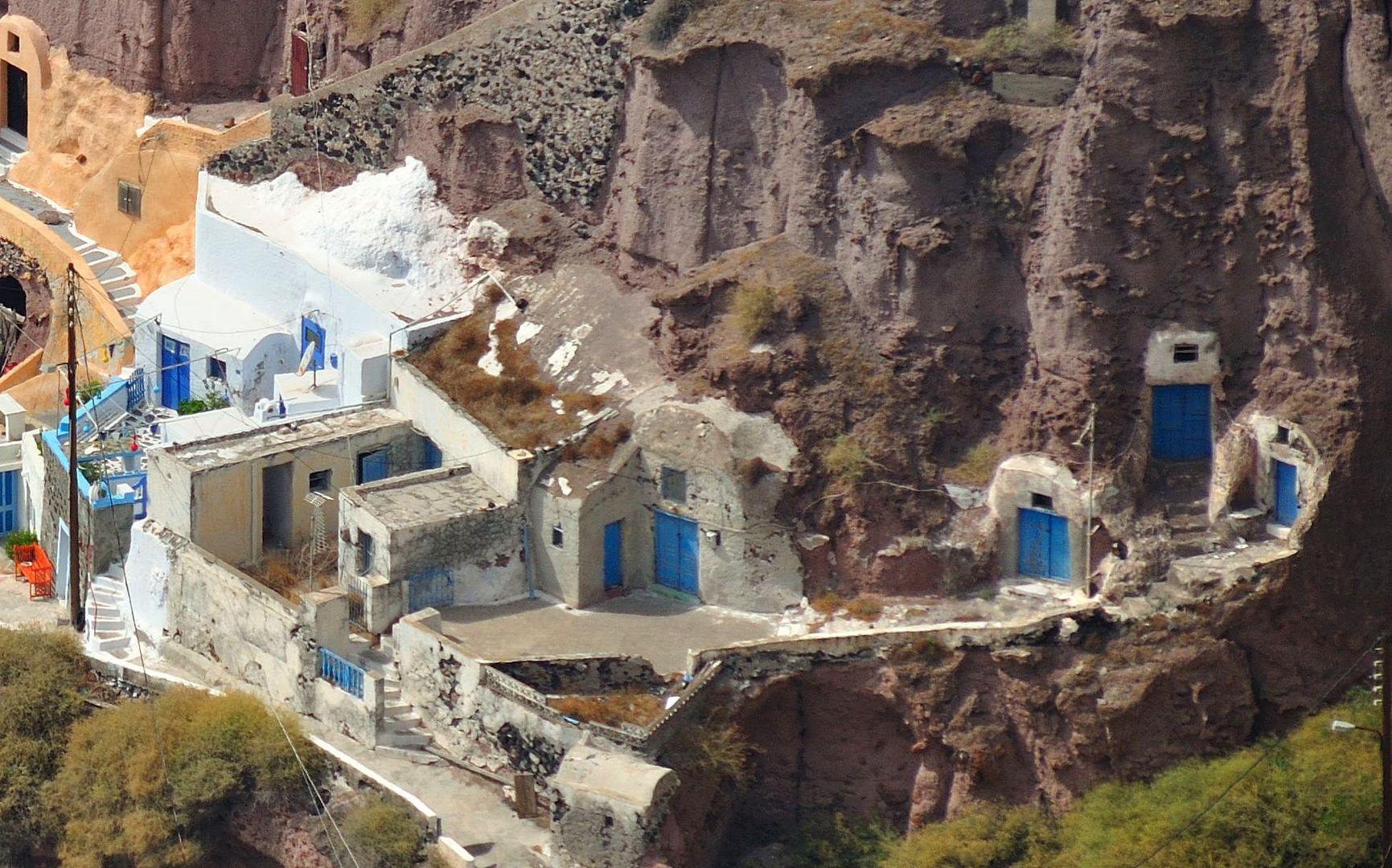Santorini - Zu den geheimen Gängen