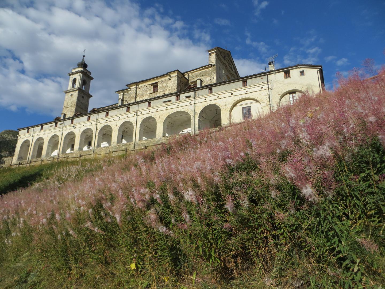 Santuario di Castelmagno (Cuneo) mt. 1761