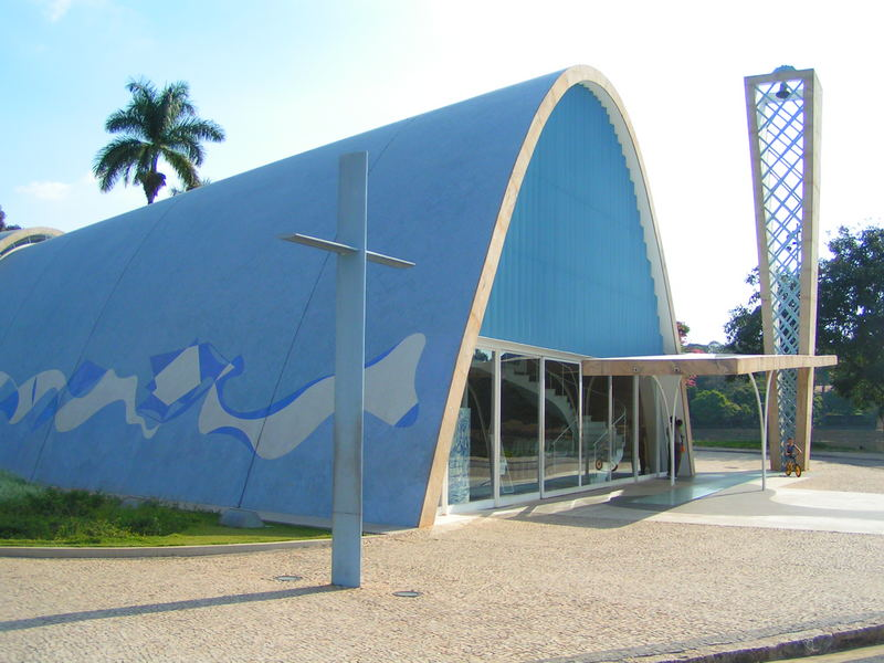 Sao Francisco Church by Oscar Niemeyer architect