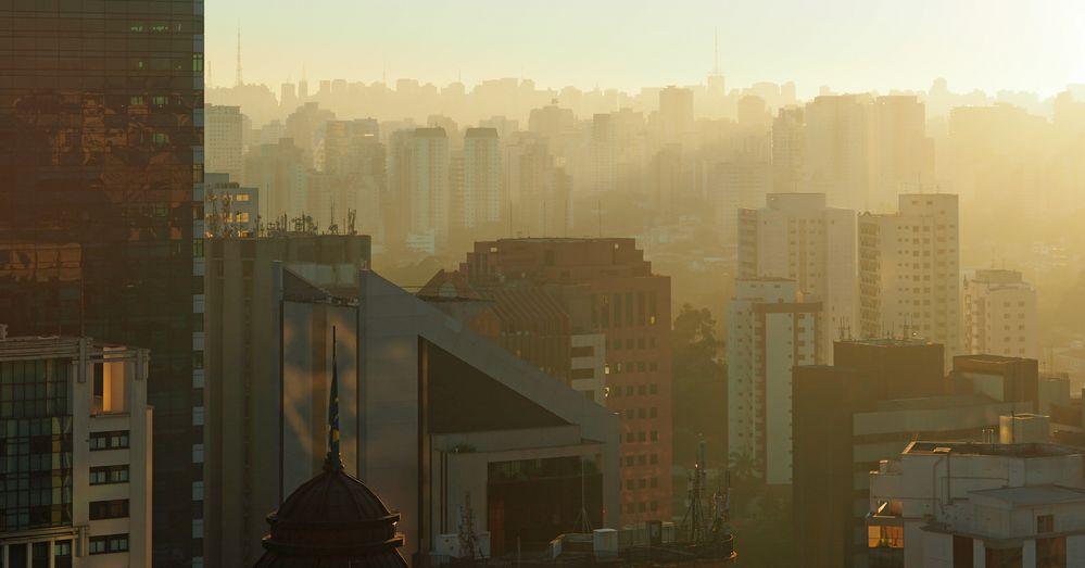 Sao Paulo im Morgenlicht