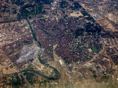 Saragossa von oben