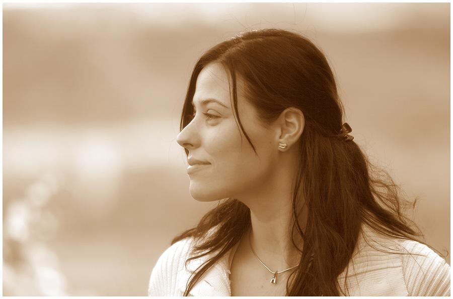 Sarah in Sepia