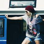 Sarah ~ Sylt ~ 2011 ~ Blue Surfer Bus II