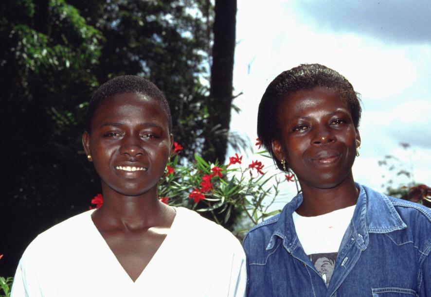 Sarah und Gladys