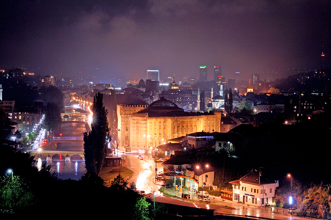 Sarajevo bei Nacht 2009