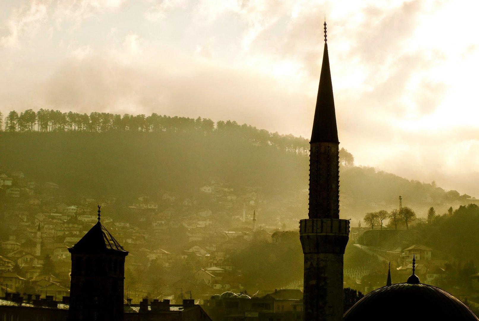 Sarajewo am Morgen