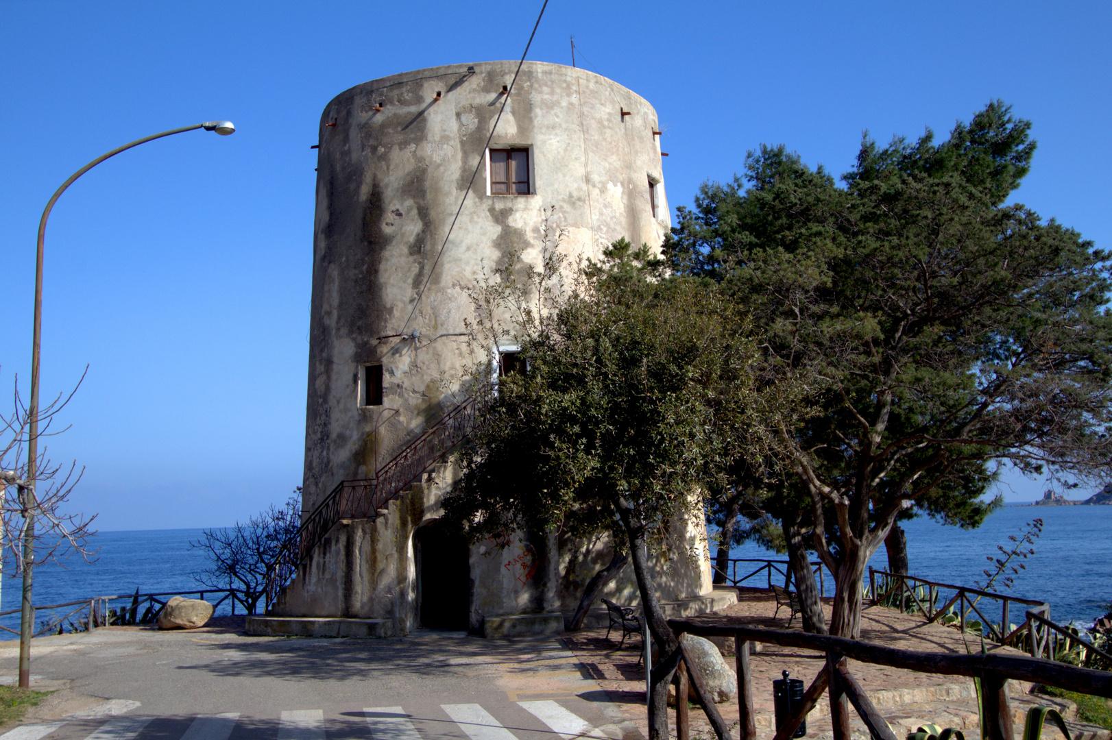 Sarazenenturm in Santa Maria Navarrese, Sardinien