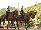 Sardische Reiter / cavalieri sardi