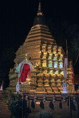 Sareerikkatartsirirak Pagoda in Chiang Mai