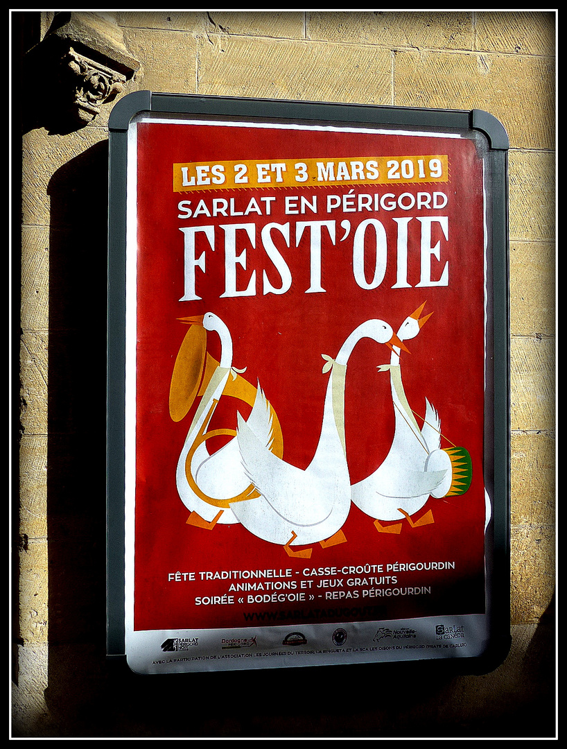SARLAT -Fest'oie
