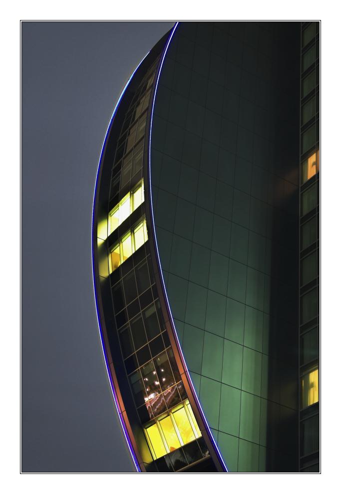 SAS Radisson Frankfurt @ Night