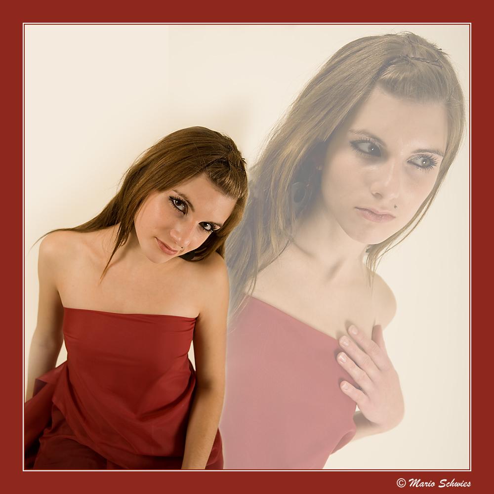 Saskia in rot