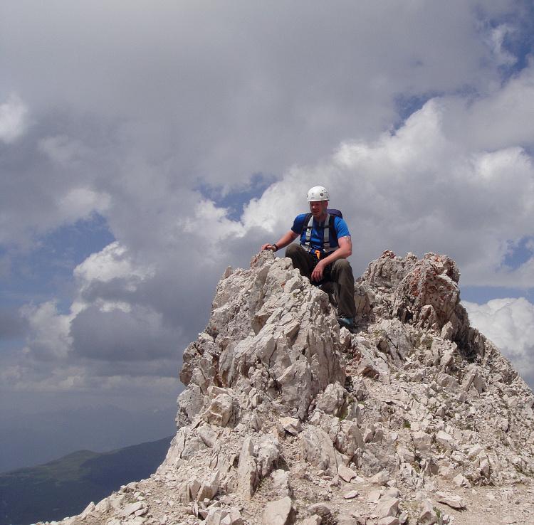 Sass Rigais - Abstieg