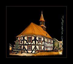 Sassenhausener Kapellenschule in Weihnachtsstimmung