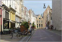 Sassenstraat Zwolle in 'Lockdown'-Modus