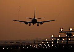 saubere Landung